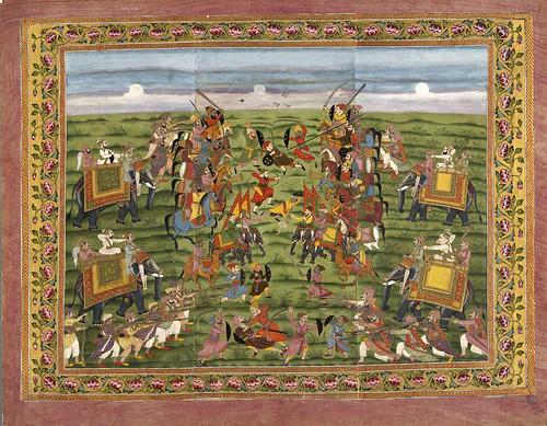 006- Pintura india siglos XVIII-XIX
