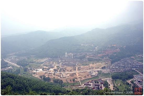 [中國山西]登黛螺頂。小天下