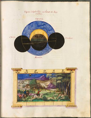 Eclipses luminarium (Cyprian Leowitz, 1555) w