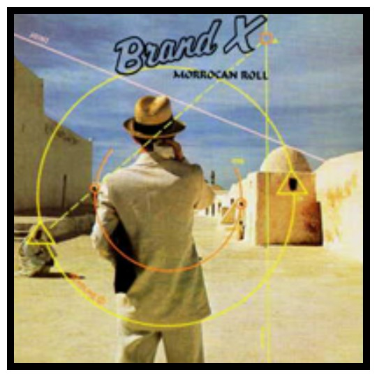 Brand X - Morroccan Roll Album Cover