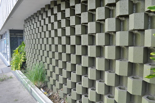 Ouno Design » Patterned Concrete Screens
