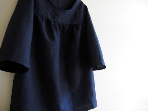 7 Feb : linen smock