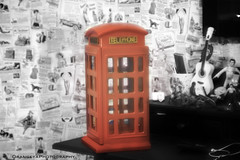 I *heart* My Phone-Booth (Orangeya) Tags: red wallpaper bw 3 london corner vintage cutout lens 50mm newspaper guitar phonebooth room bart elvis stewie f12 albandri orangeyas