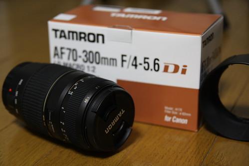 TAMRON AF 70-300mm F4-5.6