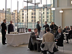 Breakfast mingle (Scottish Environmental Technology Network) Tags: green informatics itc setn