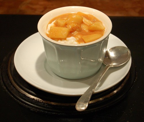 ricepudding with caramelised pears 3