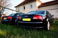 Audi RS4 & Audi S8 (Ti Cidou) Tags: audi rs4 s8