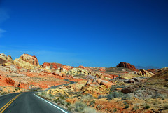 Amazing Highways (Thomas Dwyer) Tags: valleyoffire nevada lasvegas lakemead desert highdesert preserve statepark overton redrock recreation camping campground rv travel vacation petroglyph thomasdwyer tomdwyer nikon d80 landscape image photo