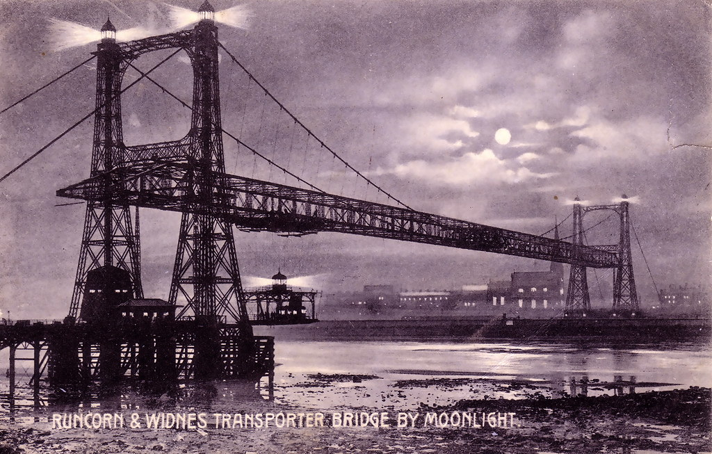 Runcorn Transporter Bridge, Cheshire (1905)