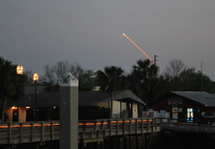 Space Shuttle Launch, Fernandina Beach 082061