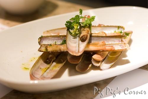barrafina razor clam