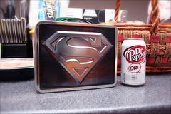 A Superman's Lunch (chanchan222) Tags: superman lunchbox nomnomnom danchan danielchan nomnom chanchan222 wwwchanofamericacom chanwaibun