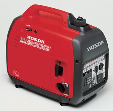 I ran my trusty Honda generator