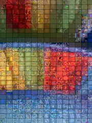 Colored Plate - Fractal Mosaic (qthomasbower) Tags: wallpaper music abstract color art colors collage digital computer visions design still pattern mosaic modernart background patterns mashup plate screenshots software dreams backgrounds designs colored fractal fractals doodles wallpapers slideshow gforce trippy psychedelic visualization discoball lightshow groceries stills trance frys screeenshot hallucinations visualizations artcafe electricsheep blueribbonwinner psychedelicart visualmashup musicvisualization sreensaver marqlaube qthomasbower frysfoodstore marqtlaube