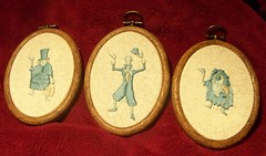 the trio of hitchhiking ghosts (giddygirlie) Tags: embroidery disneyland c