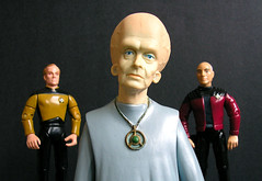 The Talosian's Decision (DarthLen) Tags: trek star captainpicard barclay talosian replimat fishorchicken