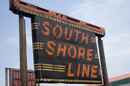 South Shore Line neon sign