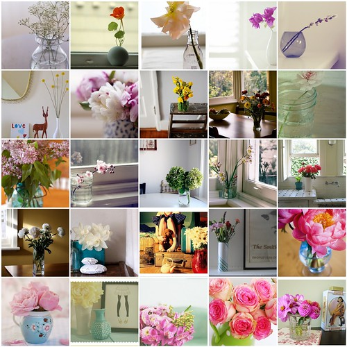 My inspiration. Flowers&vases