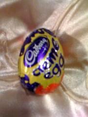 26/365 (aoifesmith) Tags: chocolate egg cadbury creme