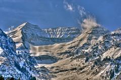 Timpanogos from Sundance (Scott Barlow) Tags: ski beautiful lens utah nikon day skiing lift pass timpanogos fixed hdr d300 sundanceresort 50mmf14d 5xp natureandnothingelse