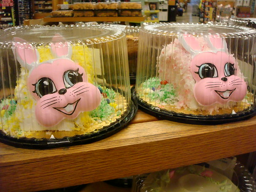 Scary Easter cakes