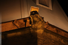 l'glise St-Csaire de Berre (Dominique Lenoir) Tags: france church photo foto gothic iglesia kirche gargoyle chiesa igreja provence fotografia glise kerk gothique gargouille tang grgola fotografa southfrance bouchesdurhne berre 13130 doccione berreletang berreltang saintcsaire abflusrinne dominiquelenoir