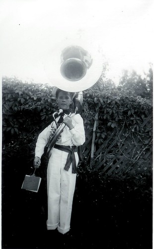 dad & his tuba