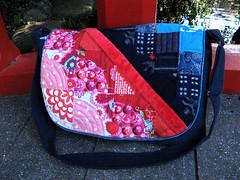 computer bag close