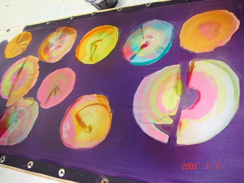 Pintura em Seda / Silk Painting by Atelier Mônica de Godoi