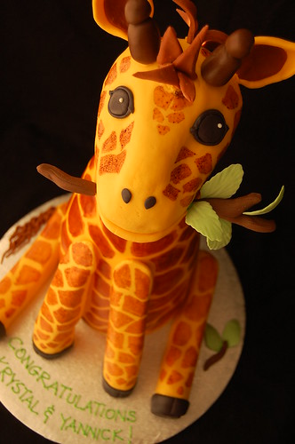 Giraffe cake - right tilt