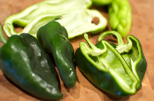 poblano and anaheim peppers