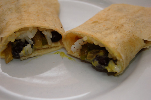 Mini Black Bean Taquito