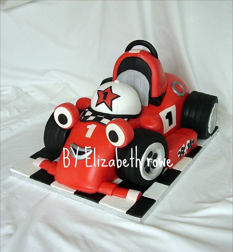 roary the racing cake