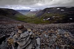 Valjfsdalur (Hlynur.Kr) Tags: mountain 20d clouds canon iceland nundarfjrur flateyri valjfsdalur