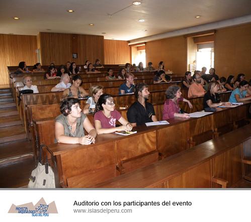 Auditorio con los participantes del evento