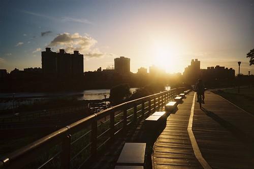 你拍攝的 【LC-A+】夕陽。