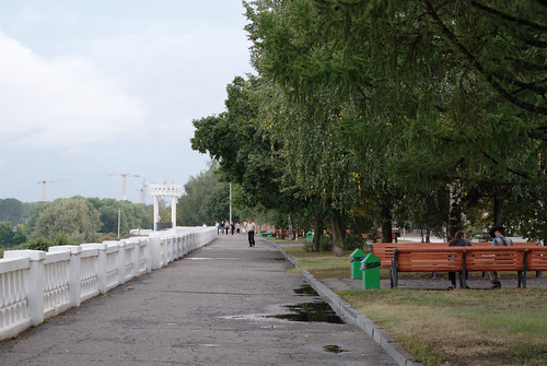Embankment of the Kotorosl river