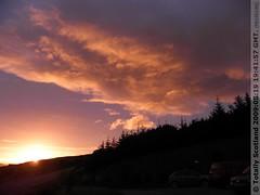 Loch Broom sunset 10/26