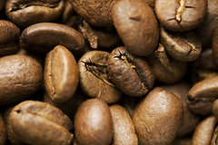 Coffee Beans 2 (larshf) Tags: macro coffee canon copenhagen beans 100mm canon5d product f28 productshot coffeebeans