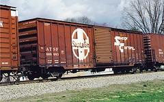 ATSF 600683 Rockwood TN Feb 27, 1998 (cogp39) Tags: trains rollingstock atsf freightcars