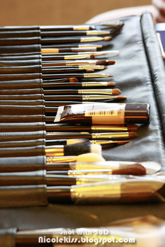 rimmel make up artist brushes