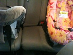 Back Seat (LULUBLOOM :: lucia) Tags: chevrolet car marathon seat roundabout carseat chevy trailblazer lt iphone britax threeacross
