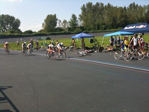 Kissena Park Velodrome Race