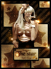179.Lady Gaga - The Star [Featuring magic dreamer creation] (Brayan E. Old Flickr) Tags: boy silly lady design spears circus banner header font goodbye britney gaga blend featuring rihanna befoure