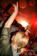 090830 Creamfields 2009 - Cream Arena - Eddie Halliwell Girl (dangerous_disco) Tags: uk party england holiday girl festival dance cheshire dancing weekend sunday cream bank august 09 rave 2009 creamfields clubbers daresbury halton nightclubphotography