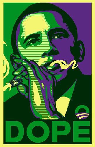 Obama Dope Green variant 2