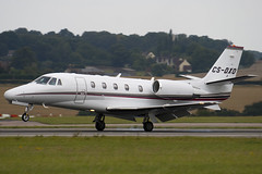 CS-DXO - Netjets Europe - Cessna 560XL Citation XLS - Luton - 090817 - Steven Gray - IMG_9158