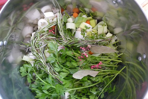 Rosemary Vegetable Stock