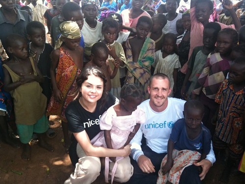 Selena Gomez Unicef Africa Support pictures and photographs