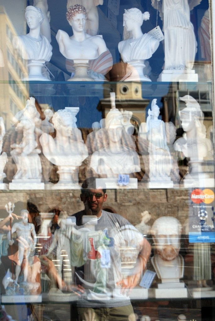 Reflection and souvenirs - Athens